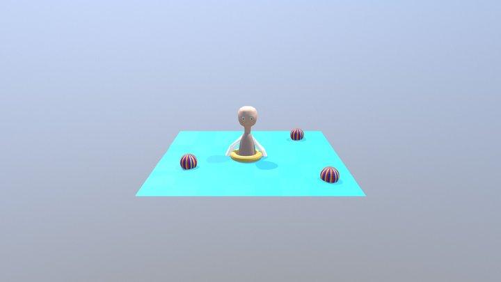 Personajetetrico 3D Model