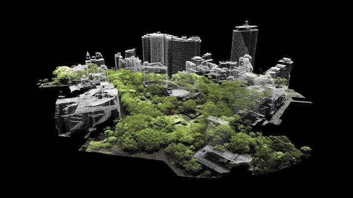Parque Copan 3D Model