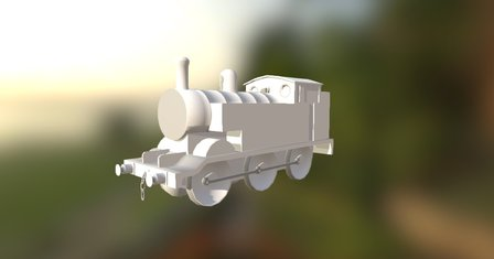 Thomas The Tank engine model for cities skylines 3D Model
