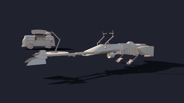 Homework11_lowpoly 3D Model