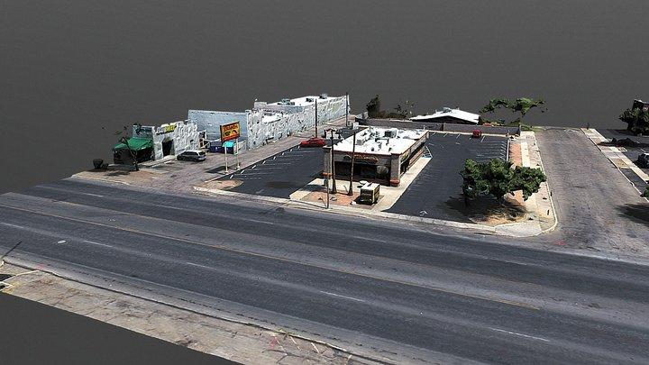 GRANT ROAD MODEL - COLOR CORRECTIONS 3D Model