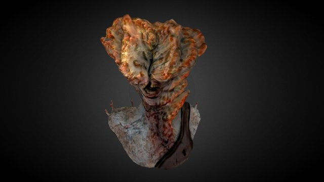 Clicker || The Last Of Us ~ Zombie 3D Model