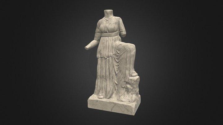 Fabric Study - Statue 3D Model
