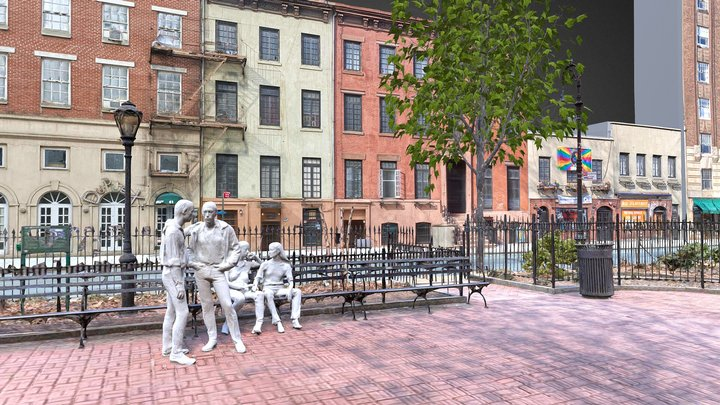 Stonewall National Monument 3D Model