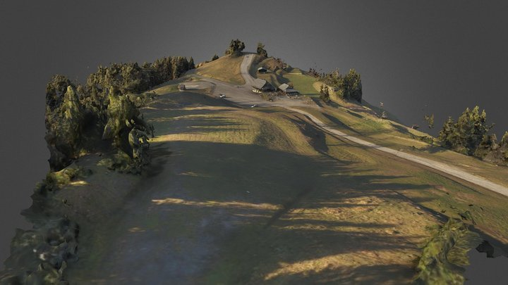Plateau d'Agy - Haute Savoie - FRANCE 3D Model