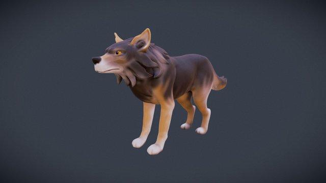 Wolf 3D Model