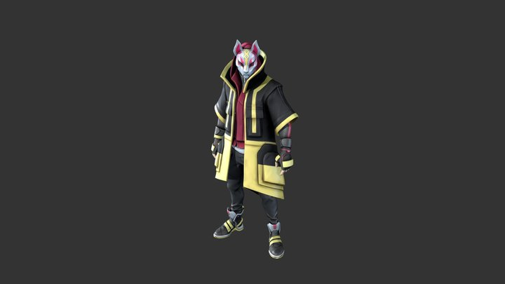 Drift Outfit (Stage #5) 3D Model