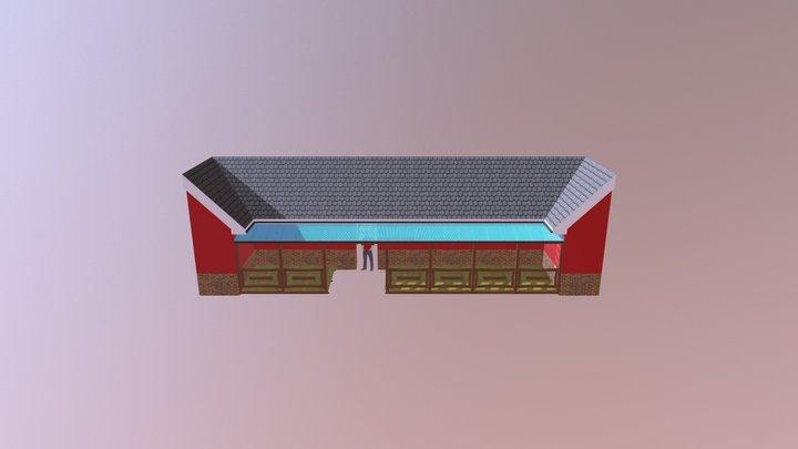 Terasse+lille+ Gjesten 3D Model