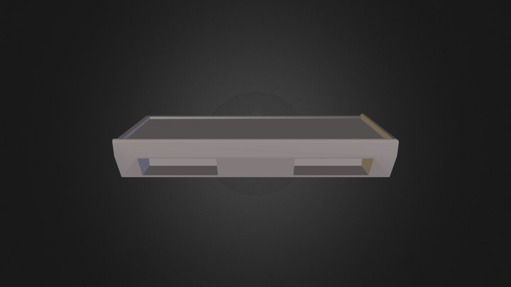 Bed Corner 3D Model
