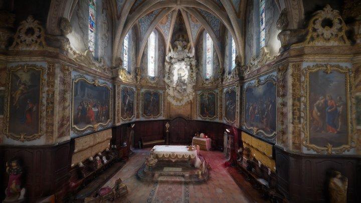 Eglise de Fanjeaux - 11 - Aude 3D Model
