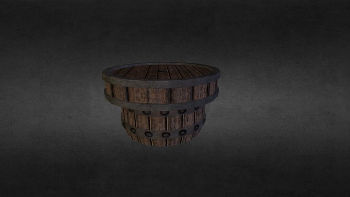 Table Barrell 3D Model