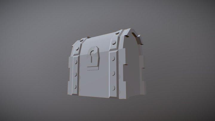 Truhe 3D Model