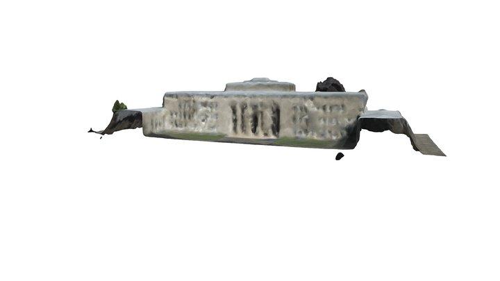 Braunschweig-Kolleg lowpoly photogrammetry 3D Model