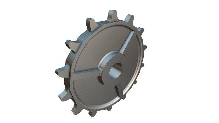 Sprocket 01 3D Model