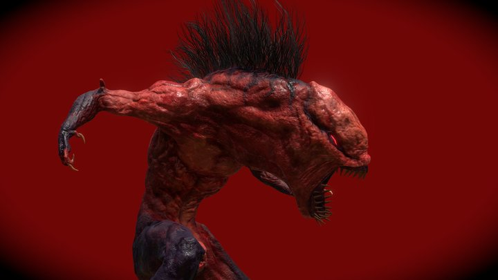 Grisly Ghoul Zombie 3D Model