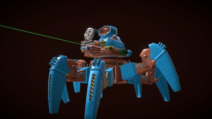 Thomas The Tank Engine 3D Model