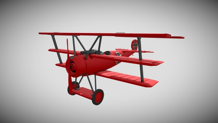 The Red Baron 3D Model