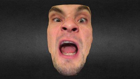 Having fun with Seene's Facescan 3D Model