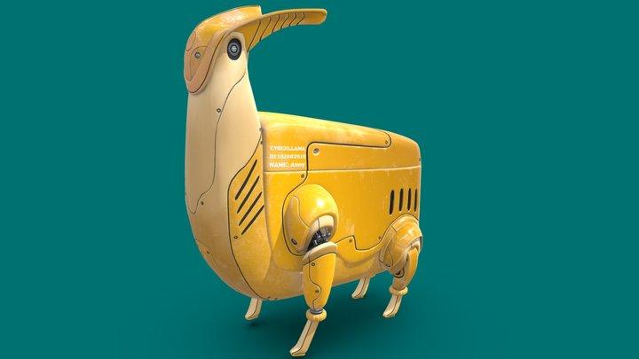 Cyberllama Anny 3D Model