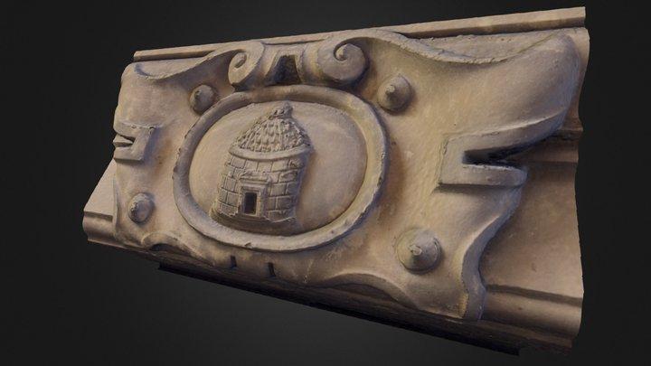 Stemma San Donato 3D Model