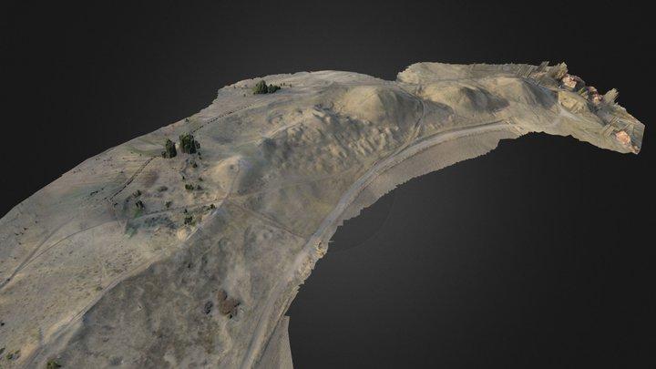Old Uppsala burial ground 3D Model