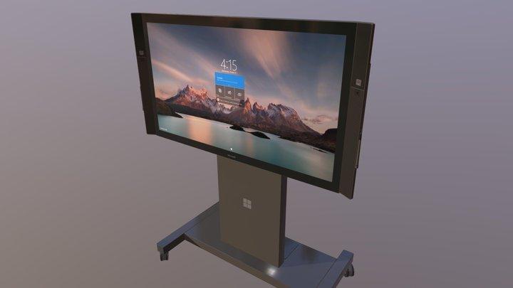 Windows Surface Hub 3D Model