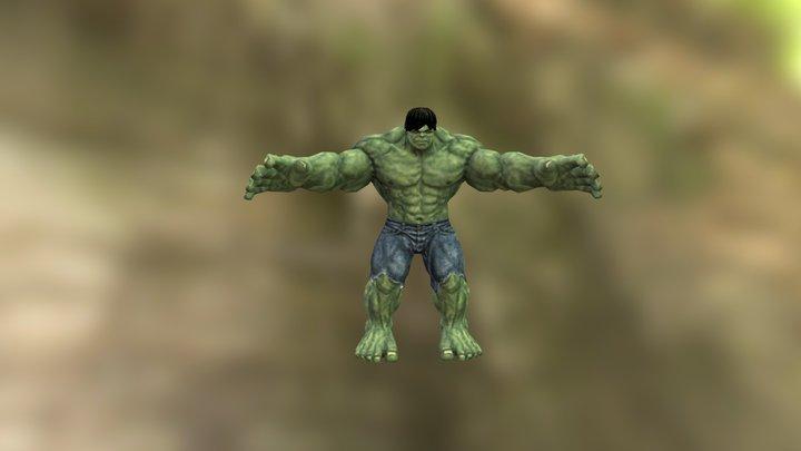 Incredible Hulk 3D Model