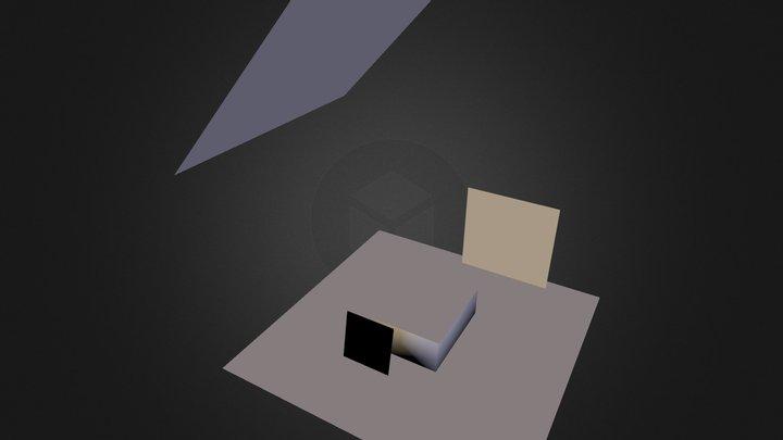 Materials Test 3D Model