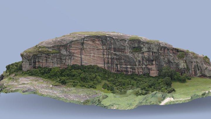Pedra Pintada - Painted Stone 3D Model