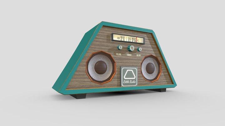 Litte Radio 3D Model