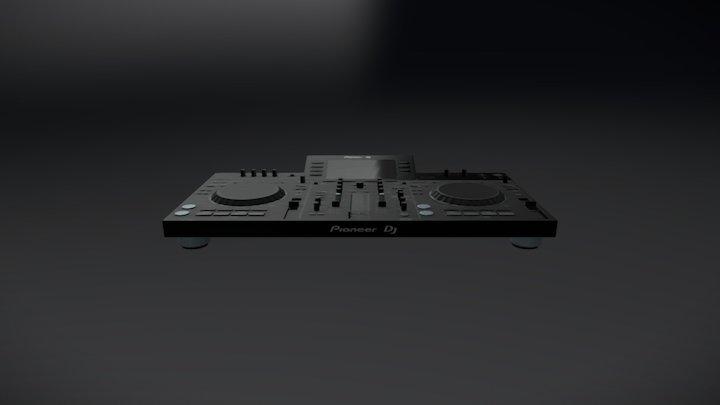 Pioneer XDJ RX 3D Model