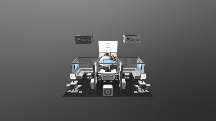 GK-5050 - Gravitee One-Step Modular Island 3D Model