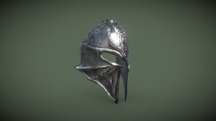 Inquisitor's Helmet 3D Model