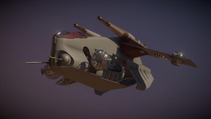 Republic Gunship WIP 3D Model