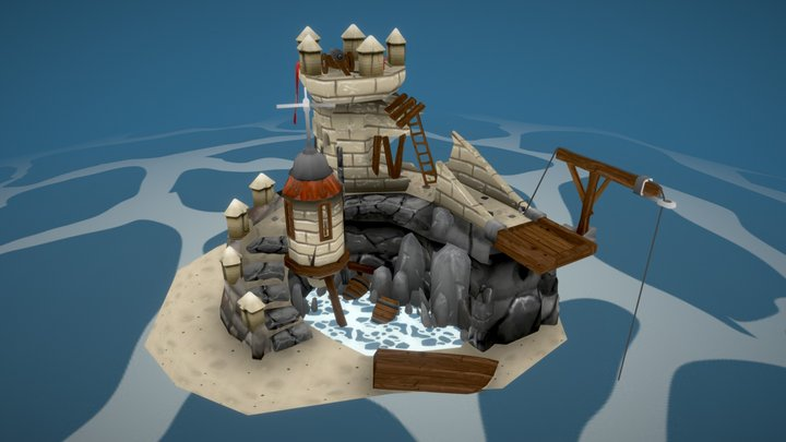 ConquistaFort 3D Model