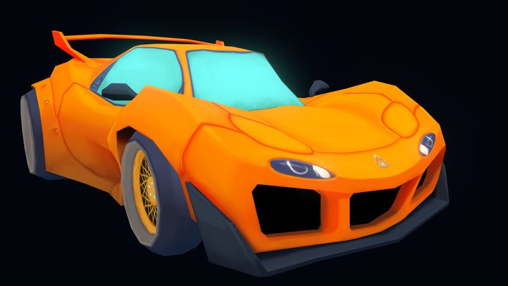 Mazda RX-7 3D Model