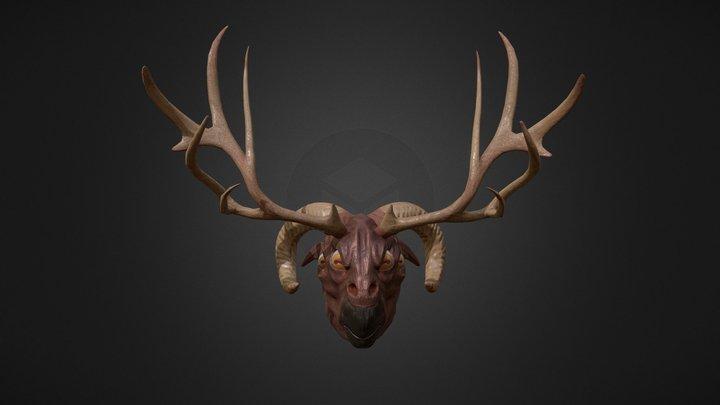 Goat monster 3D Model