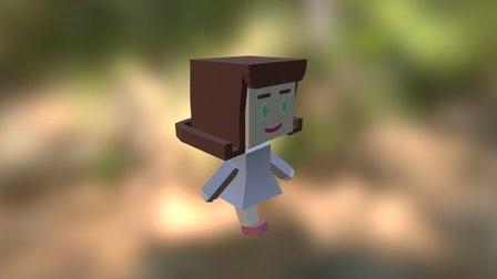 Hime - Base Character 3D Model