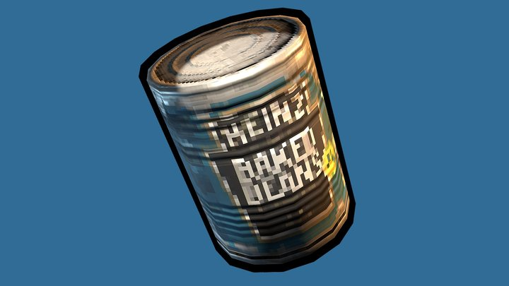 """Low Res """"HEINZ BAKED BEANS"""" 3D Model"""