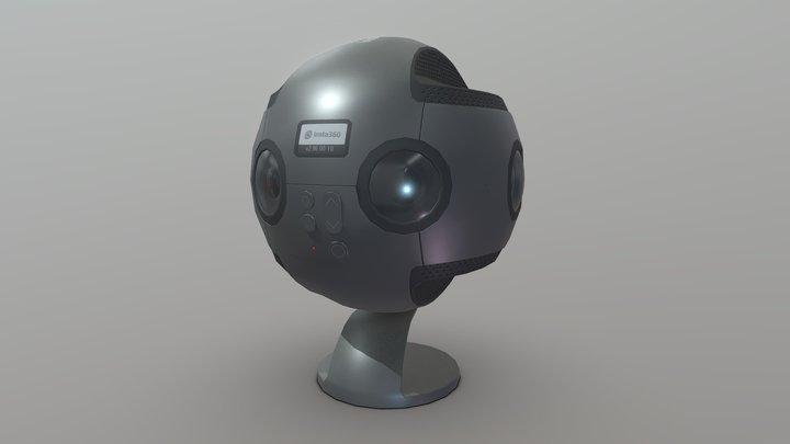 Insta 360 3D Model