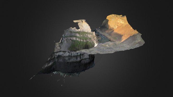 Palouse Falls 3D Model
