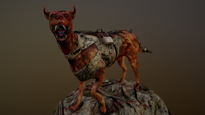 The Soldier Dog 3D Model