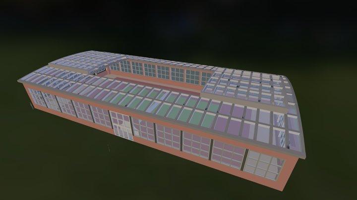 Roof Open  3D Model