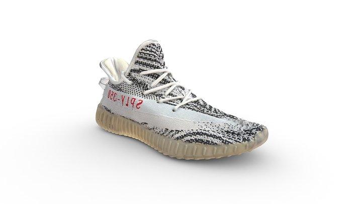 adidas Yeezy Boost 350 V2 Zebra 3D Model