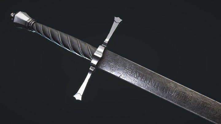 Executioner Sword 3D Model