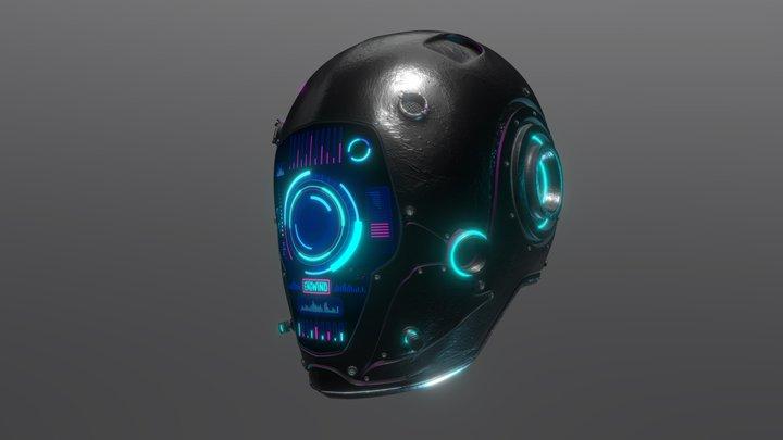 ENGWIND Cyber Helmet 3D Model