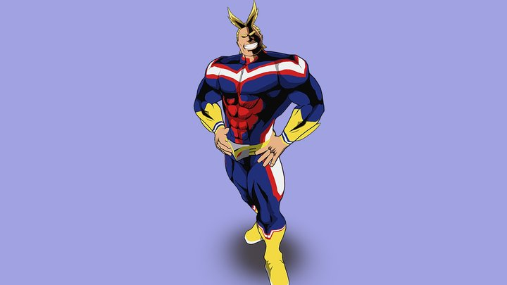 All Might 3D Model
