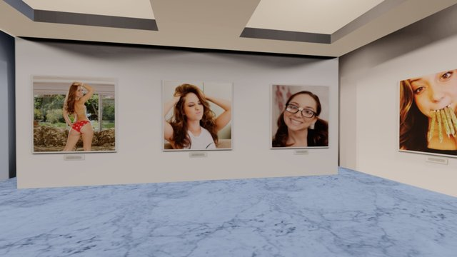 Instamuseum for @officialremylacroix 3D Model