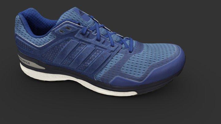 Adidas Supernova Shoe 3D Model