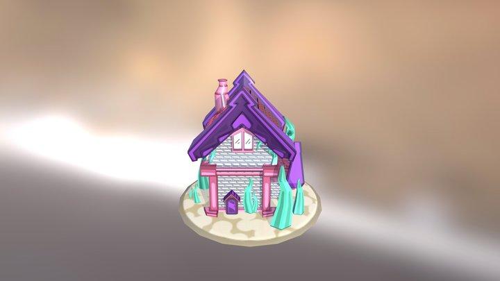 Fantasy Cottage - Final 3D Model